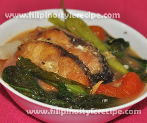 Sinigang sa Miso(Maya Maya)