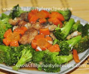 Stir Fry Fish Fillet And Broccoli Filipino Style Recipe