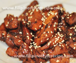 how to cook chicken fillet filipino style