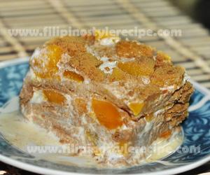 Peach Mango Graham Filipino Style Recipe