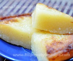 how to cook cassava cake filipino style