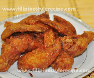 Hot and spicy chicken wings filipino style recipe 500 grams chicken forumfinder Image collections