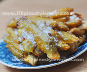 Kalingking(Sweet Potato Fritters)