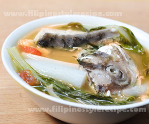 Sinigang na Ulo ng Maya-Maya