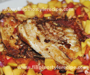 how to cook fish fillet filipino style