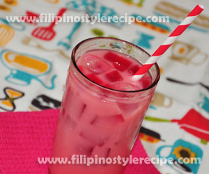 Strawberry Milk Gulaman