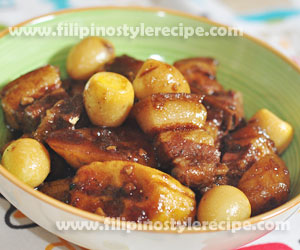 Braised Pork in Oyster Sauce