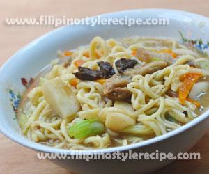 Miki Noodle Soup