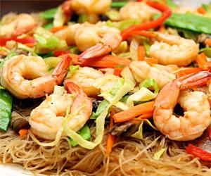 Seafood Pansit Bihon Guisado