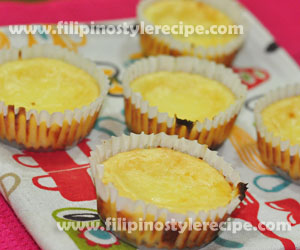 Mini Calamansi Cheesecake