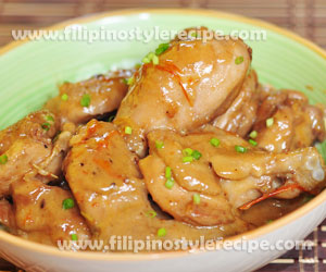 Chicken Binagoongan with Gata