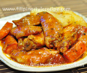 Spicy Wings in Tomato Sauce