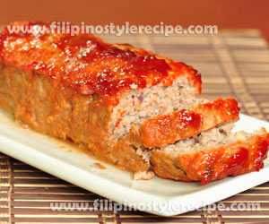 Sugar Glazed Meat Loaf