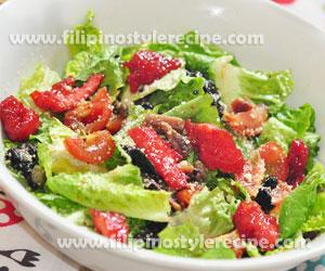 Green Salad Tocino
