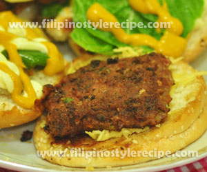 Fish Burger Patties