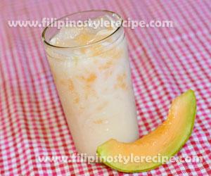 Melon Milk Drink