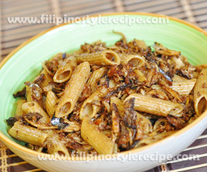 Shredded Fish Penne