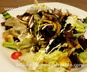Fried Anchovy Salad