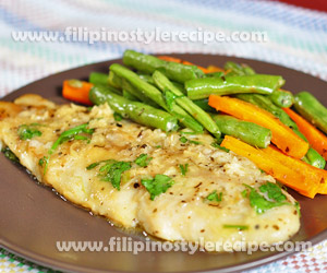 Lemon and Herb Fish Fillets