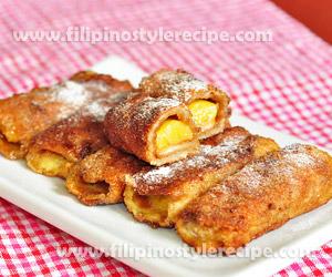 Banana Peanut Butter French Rolls