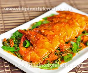 Spicy Shrimp Aligue