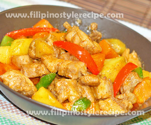 Chicken and Pork Red Curry