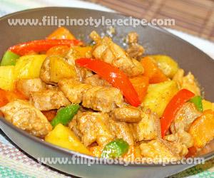 Curryfilipino Style Recipe Filipino Style Recipe