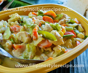 Creamy Chopsuey Filipino Style Recipe