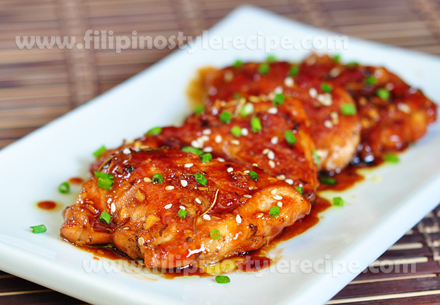 Honey Sesame Chickenfilipino Style Recipe Filipino Style
