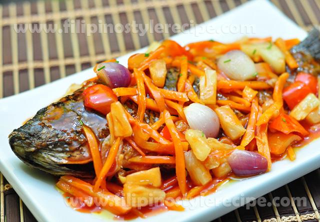 Sourfilipino style recipe filipino style recipe for Fish recipe panlasang pinoy